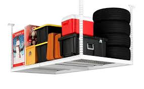 New Age Ceiling Storage Rack New New Age Products 32Feet By 32Feet Ceiling Mount Garage Storage Rack