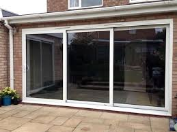 fantastic panel triple track aluminium patio door ideas triple sliding patio doors pilotproject org throughout glass door design jpg