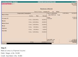 Tally.erp 9 : Bills Of Materials (Bom) - Www.tallyerp9Book.com