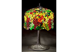 gvine tree stained glass lamp tiffany lamp stained glass light table lamp