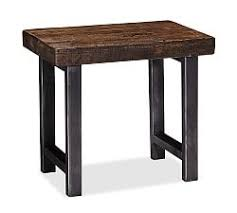 Griffin Reclaimed Wood Side Table ...