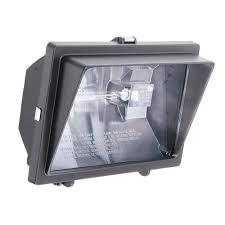 300 watt or 500 watt quartz outdoor halogen bronze visored floodlight