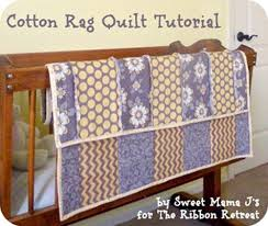 Cotton Rag Quilt Tutorial - The Ribbon Retreat Blog & Get the rag look and feel, but with cotton fabric! Adamdwight.com