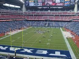 Houston Reliant Stadium Seating Chart Nrg Stadium Section 350 Houston Texans Rateyourseats Com