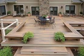 decks backyard wooden deck designs