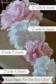 How To Make House With Chart Paper How To Make Tissue Paper Pom Poms In Different Sizes House