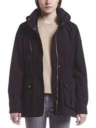 aigle sahary womens waterproof winter coat black