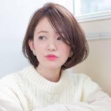ナチュラルショート美人田中美保風の髪型で大人かわいさアップ