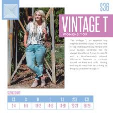 Introducing The New Lularoe Vintage T For More Info On The