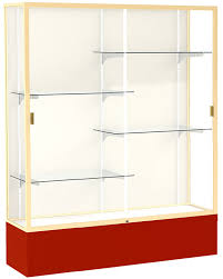 5 w spirit trophy locking display case