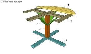 2x6 picnic table plans round picnic table plans building a round picnic table picnic table plans