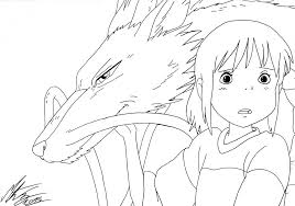 spirited away coloring pages. Unique Coloring Spirited Away Coloring Pages 65 With Throughout E