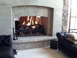 wood burning stove door glass fireplace insert superior doors mason lite custom see thru fireplaces masonry