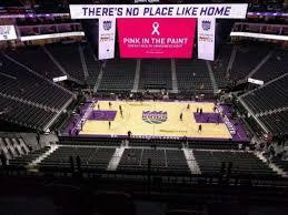 Golden 1 Center Section 218 Home Of Sacramento Kings