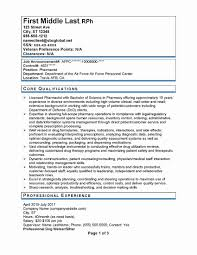 Federal Government Resume Template Best Of Canadian Resume Format