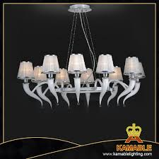 white lamp shade murano glass chandelier 40051 10