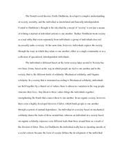 modern social theory weber religion class essay webers 2 pages modern social theory durkheim on society morality and the individual essay