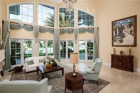 Traditional Curtain For French Doors At Cozy Living Room Traditional Living Room Curtains