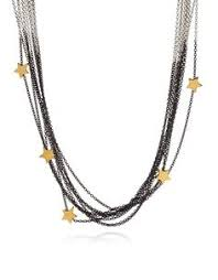 astral multi star necklace as14 gp ox s tinalilienthal jewellery london