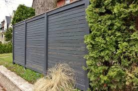 exterior wood fences. exterior:black wood fence design to confine your backyard ideas black exterior fences