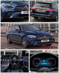 Here's a conundrum for you: 2021 Mercedes Benz E Class Estate Uk Version Dailyrevs