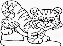 Small Picture Tiger Coloring Pages Printable Miakenasnet