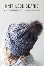 Crochet Hat Patterns Free Unique One Hour Free Crochet Hat Pattern For Beginners Video Tutorial