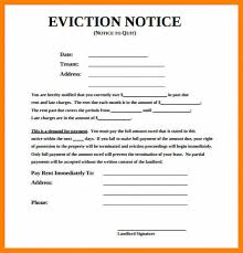 Free Printable Eviction Notice Template Delectable Download Our Sample Of 44 44 Day Eviction Notice Template Top