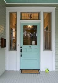 View in gallery Blue salvaged wood door
