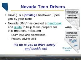 2009 nevada teen driving laws