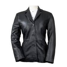 hornaldin women leather blazers