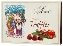 <b>Набор</b> конфет Ameri трюфели классические Канун Рождества с ...