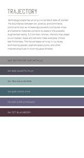 Sherwin Williams Industrial Color Chart Color Trends 2019 2020 Color Forecast Fashion Color Palettes