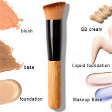 1pcs multi function pro makeup brushes powder concealer blush liquid foundation make up brush set wooden