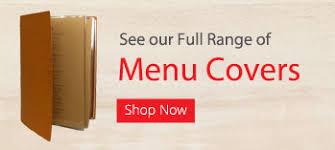 Restaurant Menu Covers Free Shipping Australia Wide