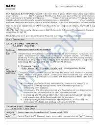 Peoplesoft Hrms Functional Consultant Resume - sap fscm sample resume 1  derivative finance sap se