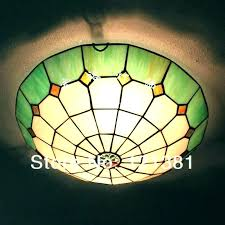 stained glass light fixture flush mount ceiling best of or 4 vintage hanging pro chandelier for m
