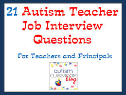 what is your weakness interview question autism classroom 21 job interview questions for autism teachers and