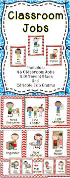 best ideas about kindergarten classroom jobs classroom jobs this classroom jobs card set includes 45 different jobs and editable templates