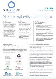 roundtable on influenza prevention strategies for people with diabetes