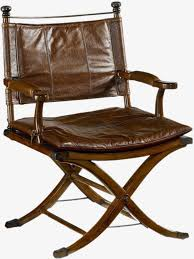 vintage leather director s chair director s chair leather seats folding chair png image and