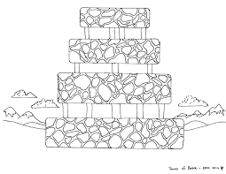 Small Picture The Tower Of Babel Coloring Pages In Page creativemoveme