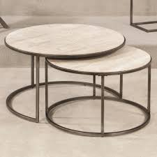 coffee tables  nesting tables contemporary black wood nest
