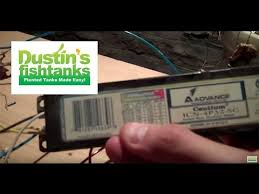 how to replace the ballast on your aquarium lights part 1 how to replace the ballast on your aquarium lights part 1