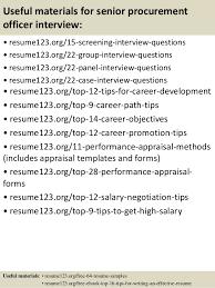 Procurement Manager Mining Resume
