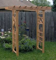 Small Picture Plain Garden Arbors On Decorating Ideas