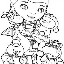 Coloring Pages Upin Dan Ipin Fresh Doc Mcstuffins Coloring Pages