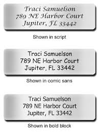 silver address label silver address labels crazy invitations