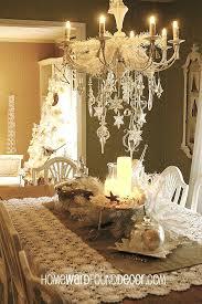 white vintage chandelier