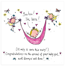 Congratulations On The Arrival Of Your New Baby Girl Juicy Lucy